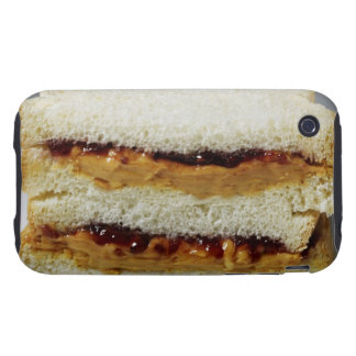Peanut butter and jelly sandwich. iPhone 3 tough covers