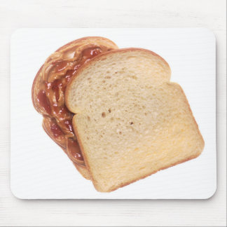Peanut Butter and Jelly Sandwich Mouse Pad