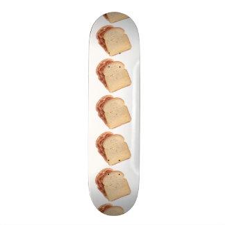 Peanut Butter and Jelly Sandwich Skateboard Deck