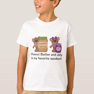 Peanut Butter and Jelly Sandwich T-Shirt