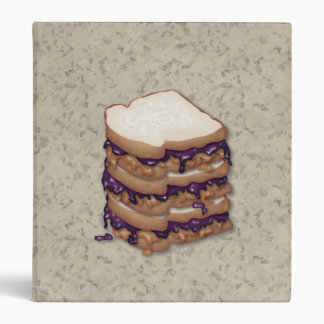 Peanut Butter and Jelly Sandwiches Binder