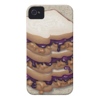 Peanut Butter and Jelly Sandwiches iPhone 4 Covers