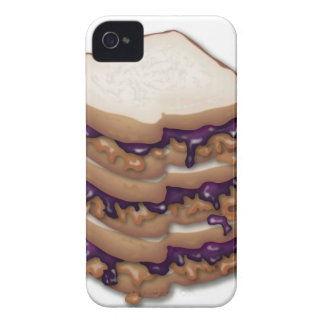 Peanut Butter and Jelly Sandwiches iPhone 4 Case-Mate Cases