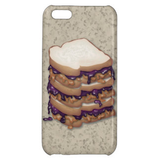 Peanut Butter and Jelly Sandwiches Case For iPhone 5C
