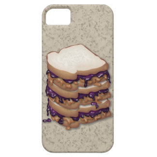 Peanut Butter and Jelly Sandwiches iPhone SE/5/5s Case