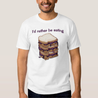 Peanut Butter and Jelly Sandwiches Tee Shirt