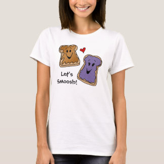 Peanut butter and jelly Smoosh t-shirt