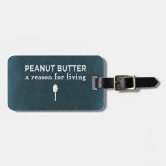Peanut Butter Bag Tag
