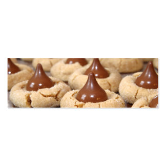 Peanut Butter Blossoms Mini Business Card