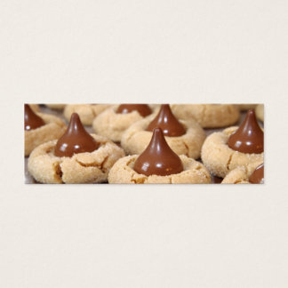 Peanut Butter Blossoms Mini Business Card