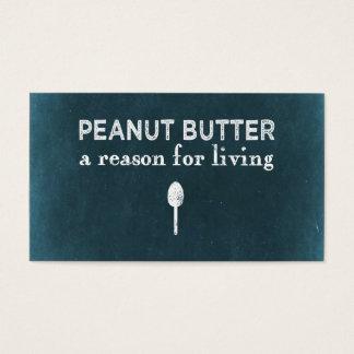 Peanut Butter Business Card
