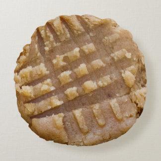 Peanut Butter Cookie Round Pillow