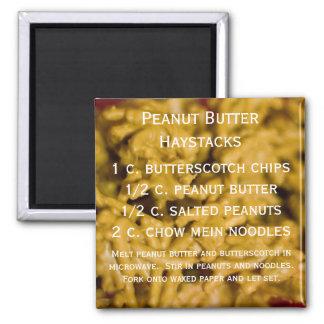 Peanut Butter Haystacks Magnet