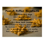 Peanut Butter Haystacks Postcard