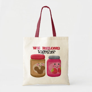 Peanut Butter & Jelly Budget Tote Bag