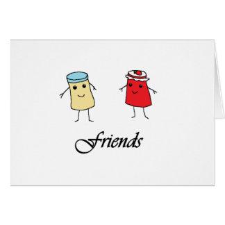 Peanut butter & Jelly Friends Card