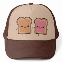 Peanut Butter   Jelly Hat