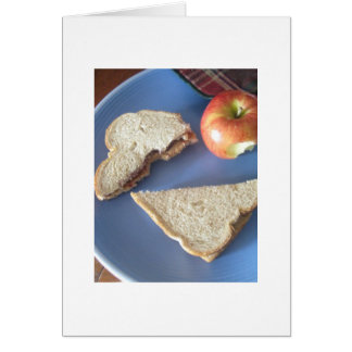 Peanut Butter & Jelly in my Belly Card