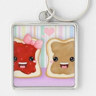 Peanut Butter & Jelly Key Chain :)