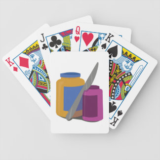 Peanut Butter & Jelly Bicycle Playing Cards