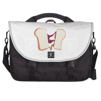 Peanut Butter Jelly Sandwich Laptop Commuter Bag