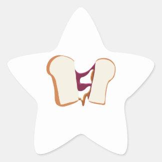 Peanut Butter Jelly Sandwich Sticker