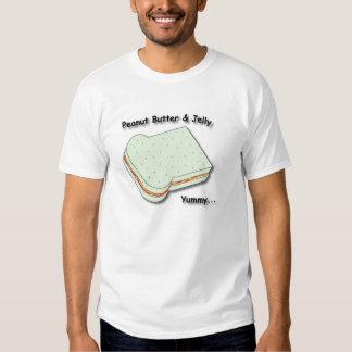 Peanut Butter & Jelly Sandwich Tee Shirt