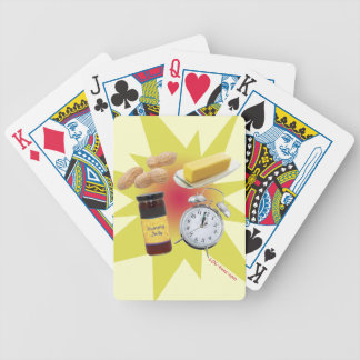 Peanut Butter Jelly Time! Bicycle Playing Cards