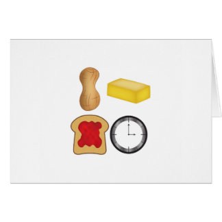 Peanut Butter Jelly Time! Card