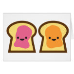 Peanut Butter Jelly Time! Greeting Card
