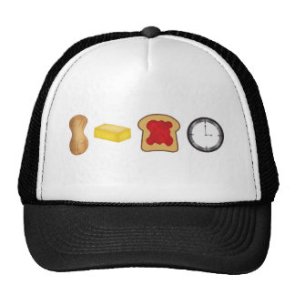Peanut Butter Jelly Time Horizontal Trucker Hat