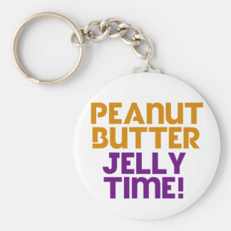 Peanut Butter Jelly Time Key Chains