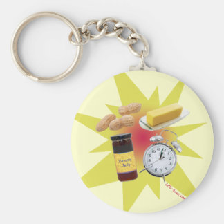 Peanut Butter Jelly Time! Keychain