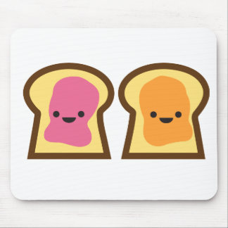 Peanut Butter Jelly Time! Mouse Pad