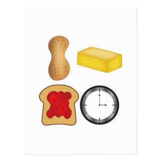 Peanut Butter Jelly Time! Postcard