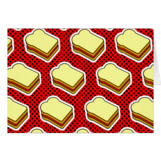 Peanut Butter Jelly Time - Strawberry Jelly Card