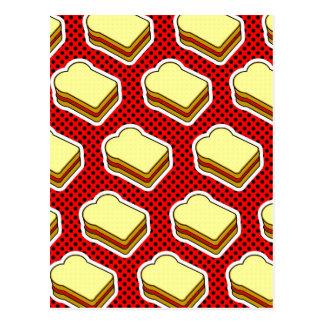 Peanut Butter Jelly Time - Strawberry Jelly Postcard