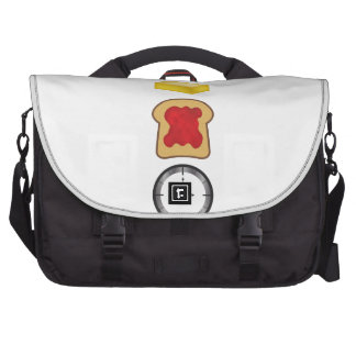 Peanut Butter Jelly Time Vertical Laptop Bag