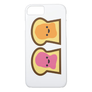 Peanut Butter & Jelly Toast Friends iPhone 7 Case