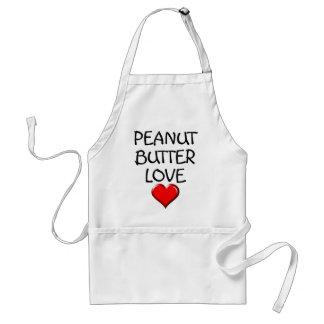 Peanut Butter Love Adult Apron