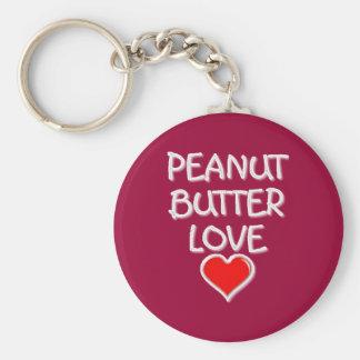 Peanut Butter Love Keychain