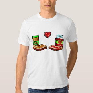 Peanut Butter Loves Jelly T Shirt