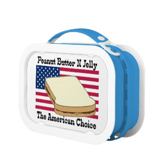 Peanut Butter N Jelly the American Choice Lunch Boxes
