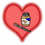 peanut butter photo cut outs