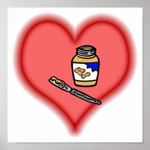 peanut butter poster