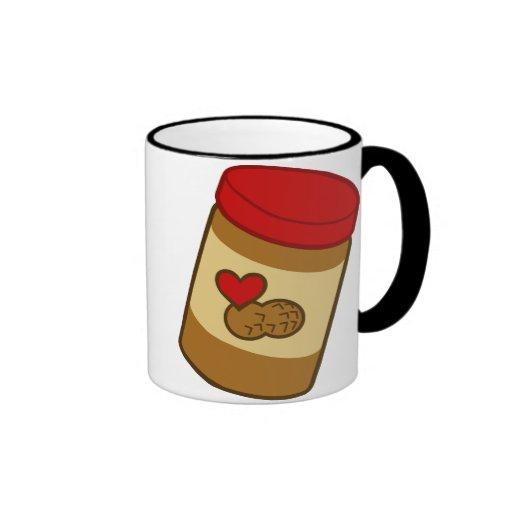 Peanut Butter Ringer Coffee Mug