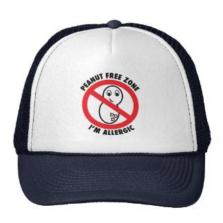 Peanut Free Zone Hat