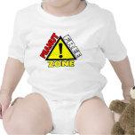 Peanut Free Zone (Peanut Allergy) Baby Bodysuit
