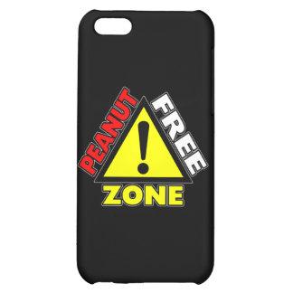 Peanut Free Zone (Peanut Allergy) iPhone 5C Covers