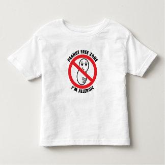 Peanut Free Zone Toddler T-Shirt